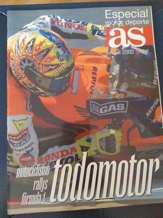guía motor AS 2002