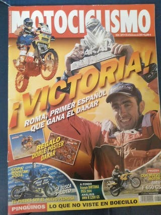 revista Motociclismo, enero 2004