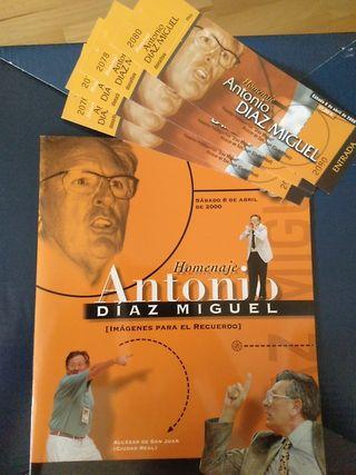 Homenaje Antonio Díaz Miguel