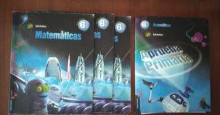 libros matemáticas superpixepolis Edelvives 6º