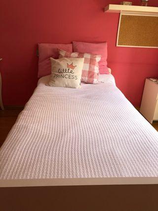 Cama nido 90x190 con colchón