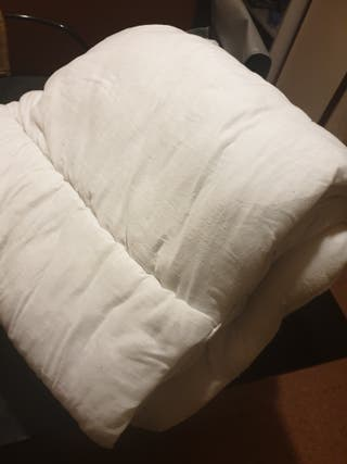 edredón de algodón