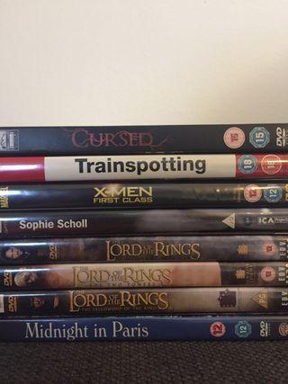 Various Movies. DVD.