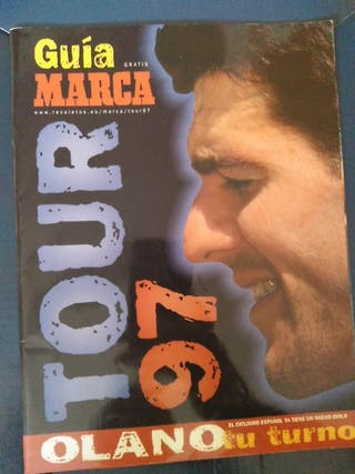 Guía Marca tour de Francia 1997