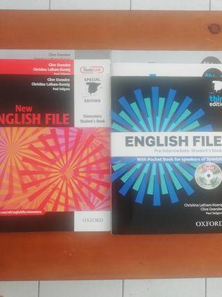 Libros de inglés + Diccionarios