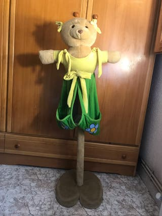 Perchero infantil de pie peluche