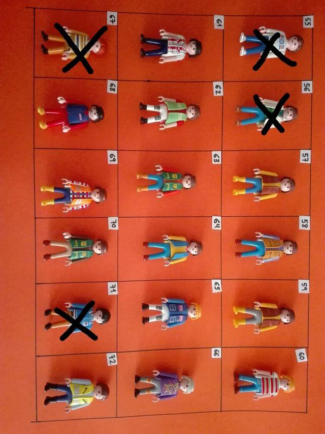 Playmobil figuras ciudad a 0,90€ cada una