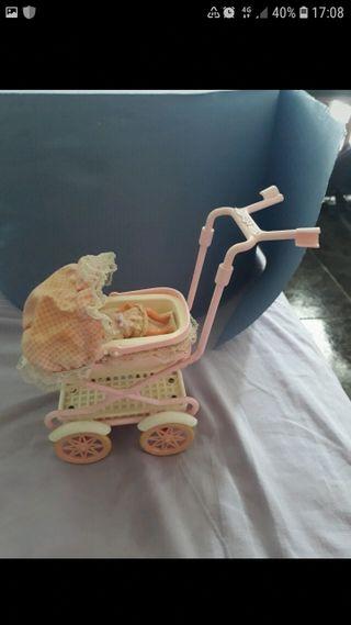 cochecito barbie