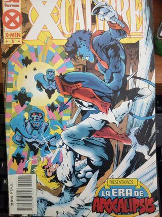 X-CALIBRE, Coleccion Completa Comics
