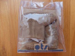 Botas marrones de invierno para bebe (OTS T18)