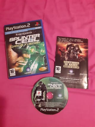 Splinter Cell Chaos Theory ps2, Tom Clancy's