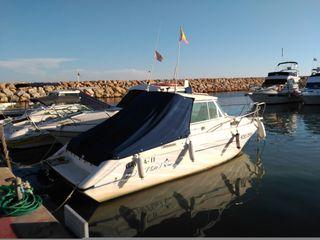 Embarcación de recreo. Barco de pesca.