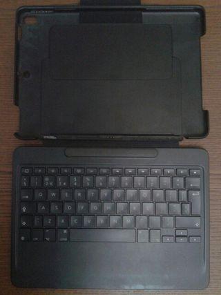 teclado con funda