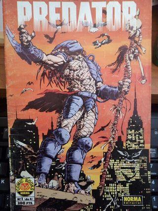 COMICS PREDATOR (DEPREDADOR), Comics #1 y #3