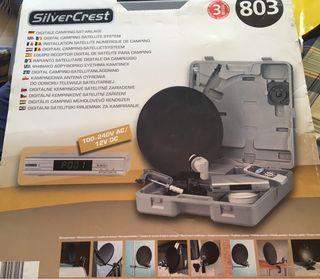 Antena satélite para camping SILVERCREST