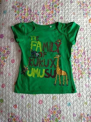 Camiseta talla 2 - 3 *