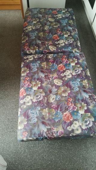Mini-sofá improvisado de palets