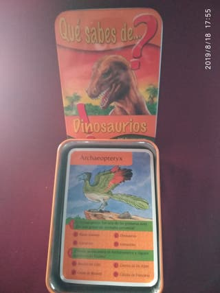Qué sabes de dinosaurios