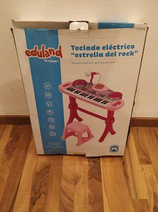 """Teclado eléctrico """" Estrella de rock"""""""