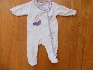 Pijama bebe niña (COTTON JUICE 1-3m)