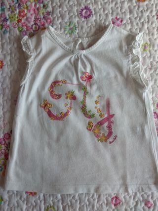 Camiseta niña talla 24 - 36 meses *
