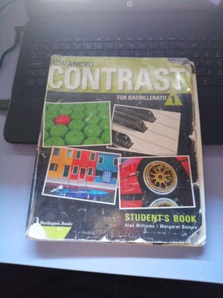 "Libro Ingles 1ro Bachillerato ""ADVANCED CONTRAST"""