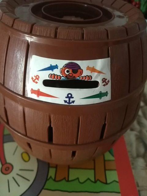 Barril pirata hucha