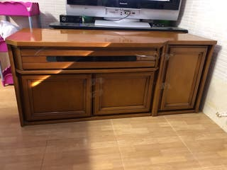 Buffet television madera maziza