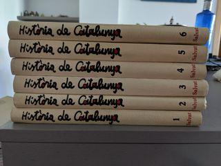 Història de Catalunya, 6 vol. - Ed. Salvat