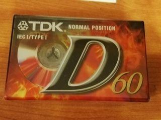 lote 5 cintas magnéticas TDK