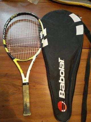 Raqueta tenis niño - Babolat (+funda)