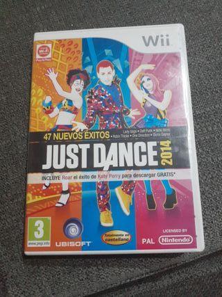vendo juego de wii just dance 2014