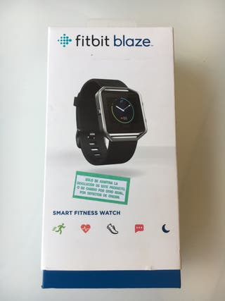 Fitbit Blaze reloj deportivo (nunca utilizado)
