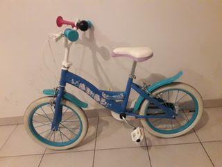 Bicicleta de Frozen.