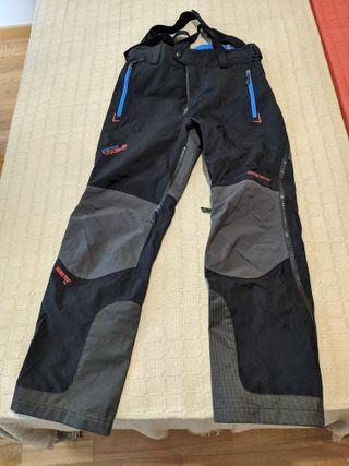 Pantalón esquí/escalada/alpinismo altas prestacion