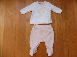 Pijama bebe niña 2 piezas (ORCHESTRA 3m)