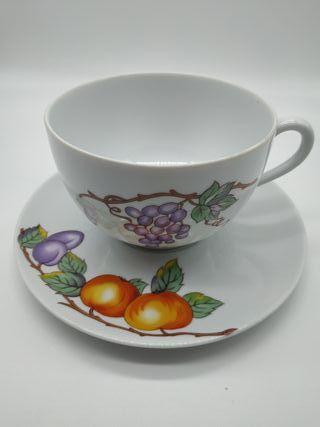 Taza desayuno porcelana limoges