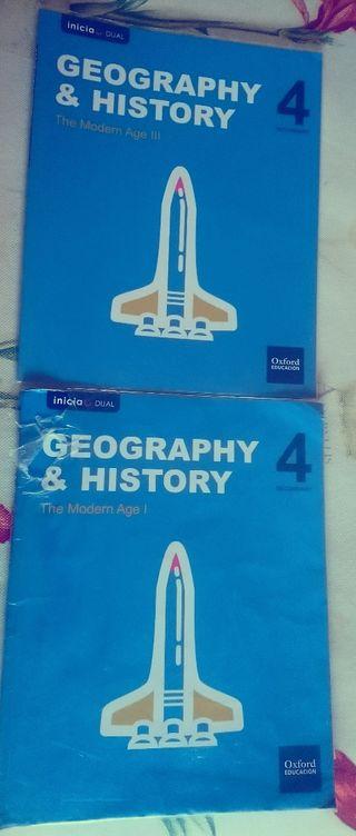 Geografia Historia Oxford 4 eso