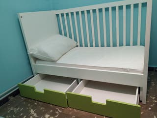 Cuna-cama Ikea Stuva Seminueva