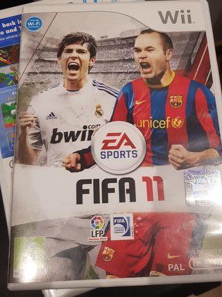 videojuego de fifa 11 (wii)