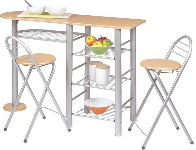 Mesa cocina y taburetes de segunda mano por 40 € en Terrassa ...