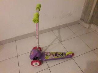 Patinete de 3 ruedas de Minnie