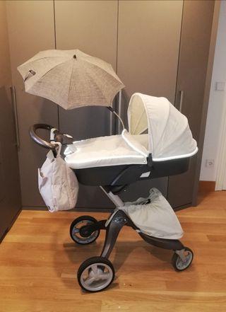 Silla + capazo de bebé STOKKE