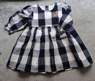 vestido cuadros Primark