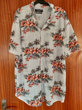 Camisa de verano a flores