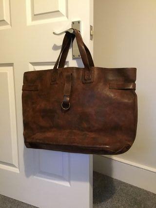 Polo Ralph Lauren leather bag