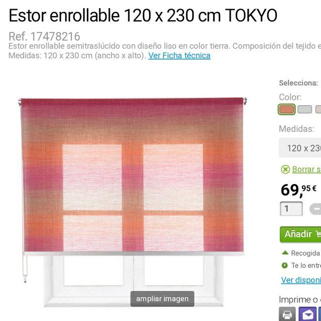 Estor Enrollable Tokyo