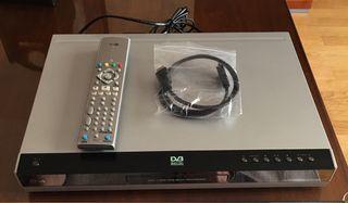 Grabador DVD con Tdt y disco duro