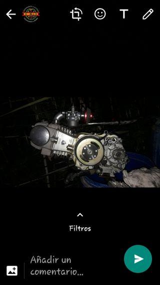 motor de pit bike rebel 125