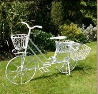 Bicicleta de jardín
